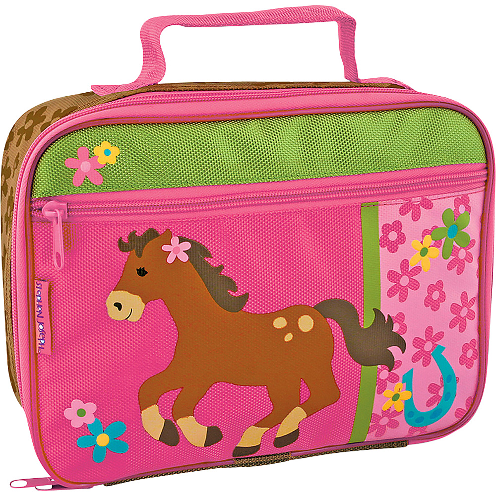 Stephen Joseph Lunchbox Horse - Girl - Stephen Joseph Travel Coolers - Travel Accessories, Travel Coolers