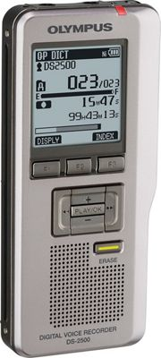 Olympus 2GB Digital Voice Recorder Gray - Olympus Portable Entertainment