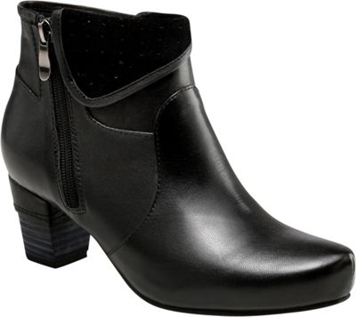 Vicenzo Footwear Nicola Low Heel Ankle Women Leather Boots 8 - Black - Vicenzo Footwear Women's Footwear