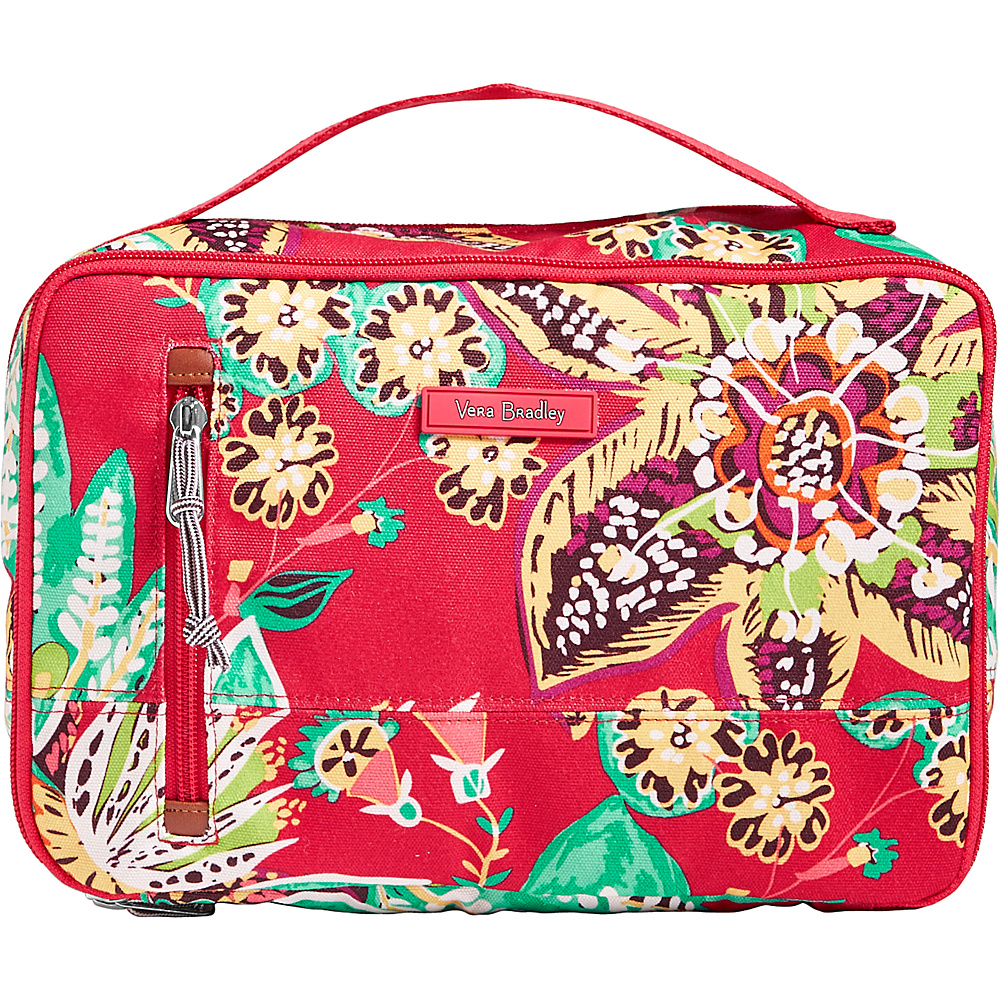 Vera Bradley Lighten Up Large Blush & Brush Case Rumba - Vera Bradley Toiletry Kits - Travel Accessories, Toiletry Kits