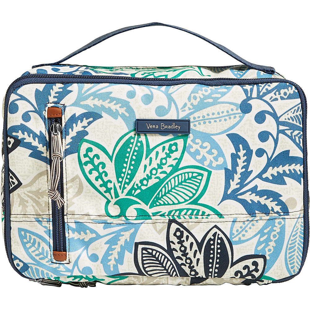 Vera Bradley Lighten Up Large Blush & Brush Case Santiago - Vera Bradley Toiletry Kits - Travel Accessories, Toiletry Kits