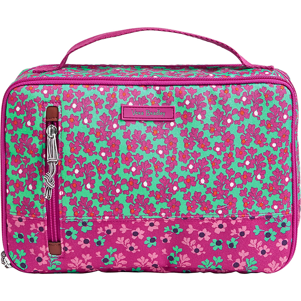 Vera Bradley Lighten Up Large Blush & Brush Case Ditsy Dot - Vera Bradley Toiletry Kits - Travel Accessories, Toiletry Kits