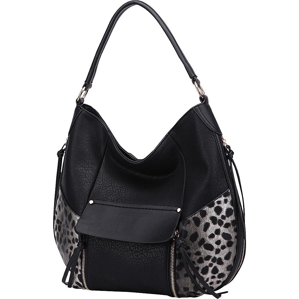 MKF Collection by Mia K. Farrow Shana Hobo Black - MKF Collection by Mia K. Farrow Manmade Handbags - Handbags, Manmade Handbags