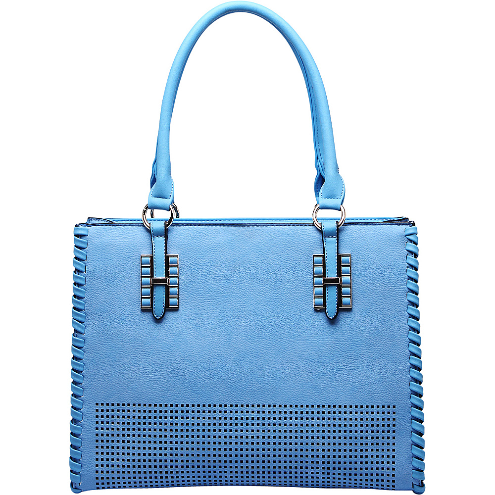 MKF Collection Layla Satchel Blue - MKF Collection Manmade Handbags - Handbags, Manmade Handbags