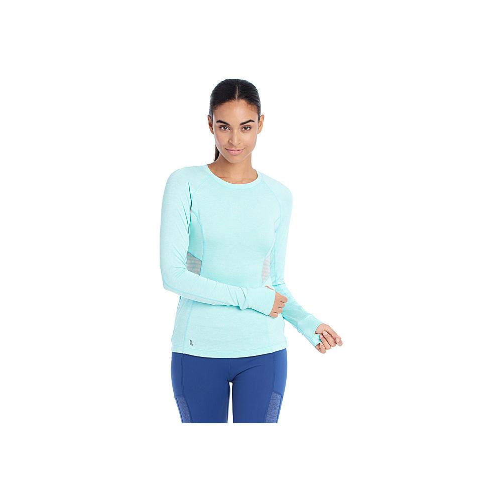 Lole Lynn Top XS - Aqua Splash Heather - Lole Womens Apparel - Apparel & Footwear, Women's Apparel