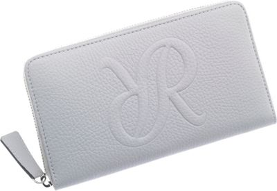 Rapport London Continental Leather Wallet Grey - Rapport London Women's Wallets