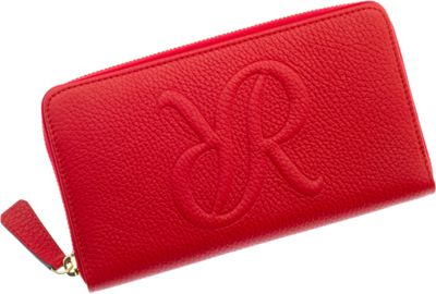 Rapport London Continental Leather Wallet Red - Rapport London Women's Wallets
