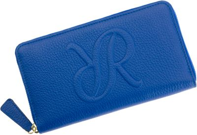 Rapport London Continental Leather Wallet Blue - Rapport London Women's Wallets