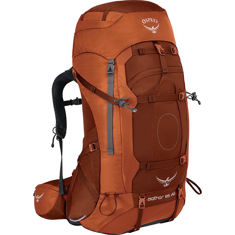 Osprey Aether AG 85 Hiking Pack Outback Orange – SM - Osprey Backpacking Packs - Outdoor, Backpacking Packs