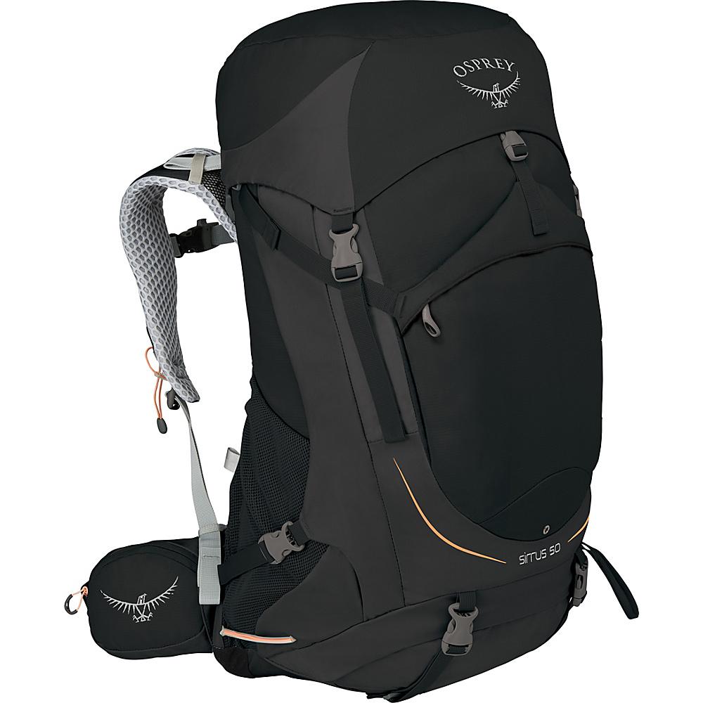 Osprey Womens Sirrus 50 Hiking Pack Black – WXS/S - Osprey Backpacking Packs - Outdoor, Backpacking Packs