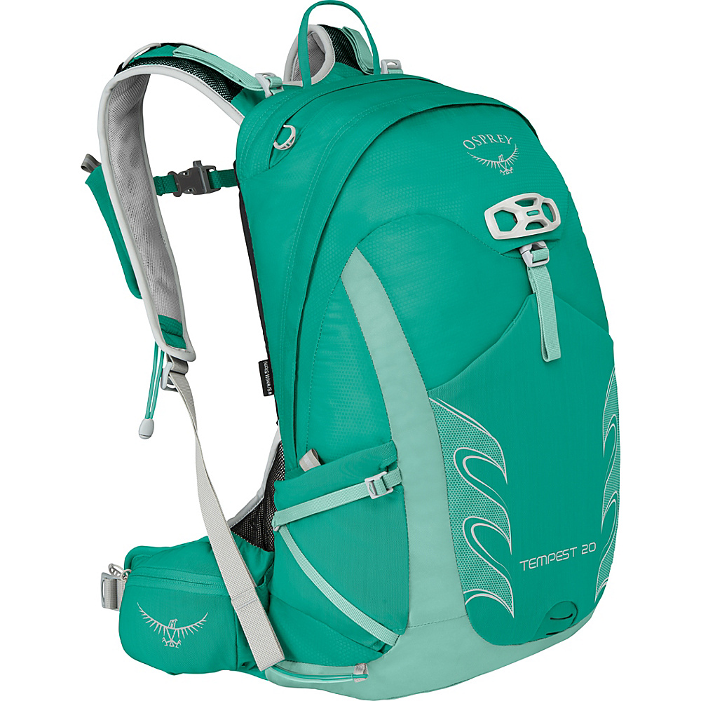Osprey Womens Tempest 20 Hiking Pack Lucent Green – WS/M - Osprey Backpacking Packs - Outdoor, Backpacking Packs