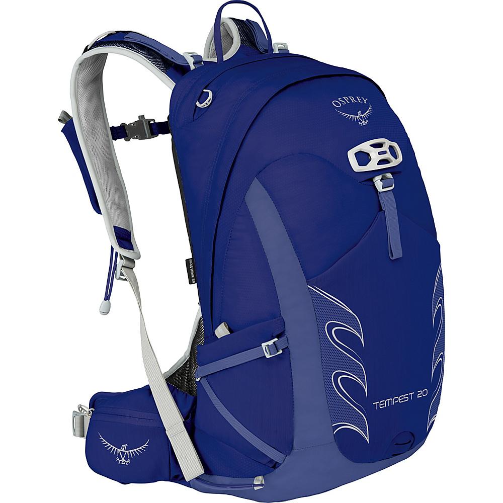 Osprey Womens Tempest 20 Hiking Pack Iris Blue – WXS/S - Osprey Backpacking Packs - Outdoor, Backpacking Packs