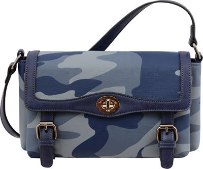 Mellow World Brandy Crossbody Navy Blue - Mellow World Manmade Handbags