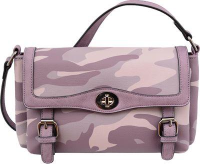 Mellow World Brandy Crossbody Purple - Mellow World Manmade Handbags