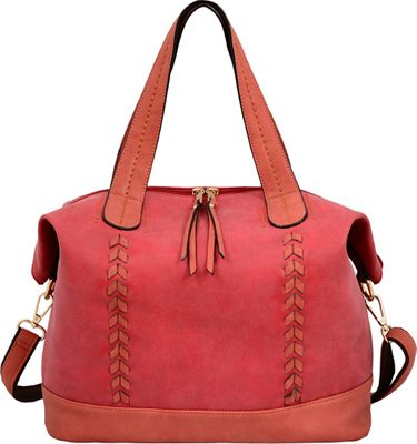 Mellow World Sonya Tote Red - Mellow World Manmade Handbags