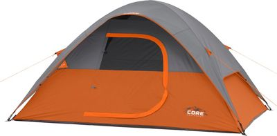 Core Equipment 4P Dome Tent Orange - Core Equipment Outdoor Accessories