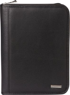 Franklin Covey Classic Size Secure Zip-Around 7-Ring Planner / Agenda Black - Franklin Covey Business Accessories