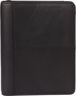 Franklin Covey Classic Size Secure Zip-Around 7-Ring Binder / Planner Black - Franklin Covey Business Accessories