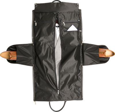 Hook & Albert Waxed Canvas Garment Weekender Bag Gray - Hook & Albert Travel Duffels