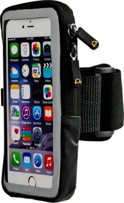 Gear Beast Large Slim Case Compatible Armband Black - Gear Beast Electronic Cases