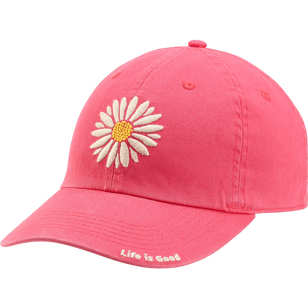 Life is good Chill Cap Daisy One Size - Pop Pink - Life is good Hats - Fashion Accessories, Hats
