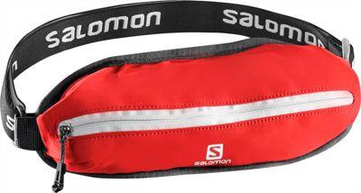 Salomon Agile Single Belt Bright Red/White - Salomon Waist Packs