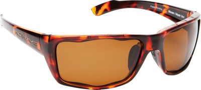 Native Eyewear Wazee Sunglasses Maple Tort with Polarized Brown - Native Eyewear Eyewear