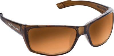 Native Eyewear Wazee Sunglasses Moss with Polarized Bronze Reflex - Native Eyewear Eyewear