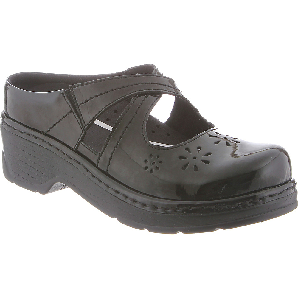 KLOGS Footwear Womens Carolina 10 - W (Wide) - Black Patent - KLOGS Footwear Womens Footwear - Apparel & Footwear, Women's Footwear