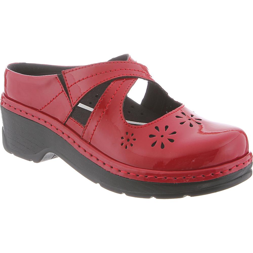 KLOGS Footwear Womens Carolina 7.5 - M (Regular/Medium) - Chili Pepper Patent - KLOGS Footwear Womens Footwear - Apparel & Footwear, Women's Footwear