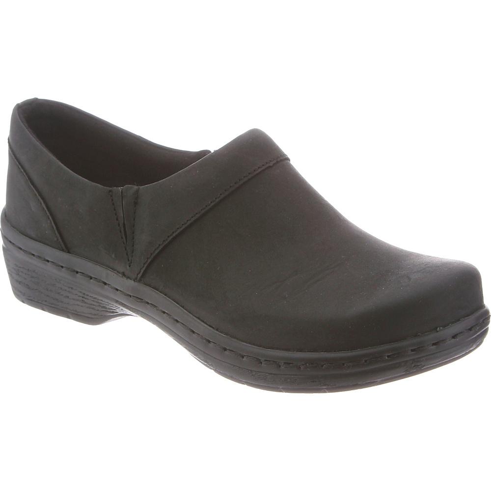 KLOGS Footwear Mens Mace 9.5 - M (Regular/Medium) - Black Oiled - KLOGS Footwear Mens Footwear - Apparel & Footwear, Men's Footwear