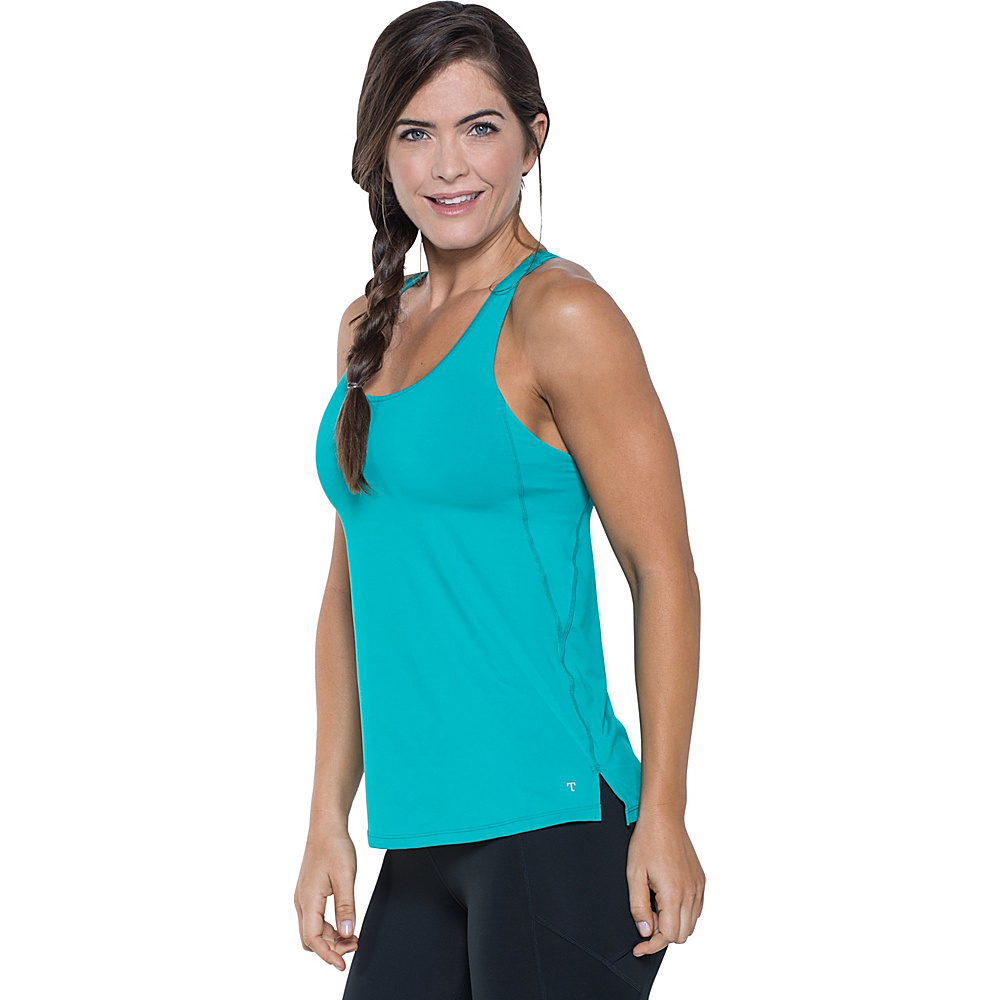 Toad & Co Aquaflex Tank XS - Turquoise Cove - Toad & Co Womens Apparel - Apparel & Footwear, Women's Apparel