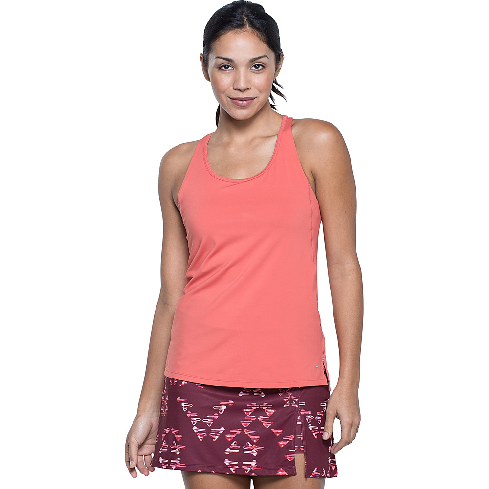 Toad & Co Aquaflex Tank S - Spiced Coral - Toad & Co Womens Apparel - Apparel & Footwear, Women's Apparel