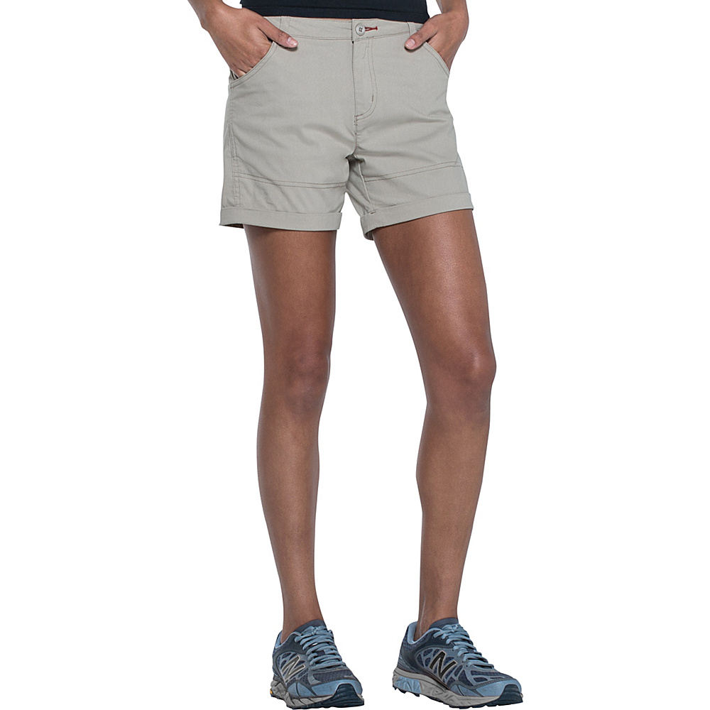 Toad & Co Summitline Hiking Short 14 - 5in - Buckskin - Toad & Co Womens Apparel - Apparel & Footwear, Women's Apparel