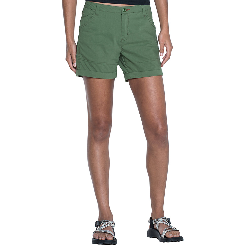 Toad & Co Summitline Hiking Short 4 - 5in - Kale - Toad & Co Womens Apparel - Apparel & Footwear, Women's Apparel