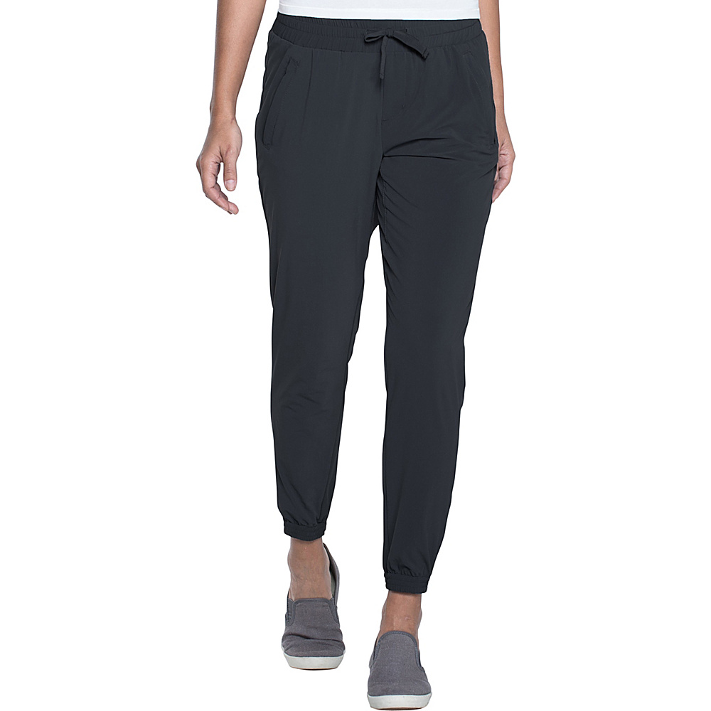 Toad & Co Sunkissed Rollup Pant L - 28in - Black - Toad & Co Womens Apparel - Apparel & Footwear, Women's Apparel