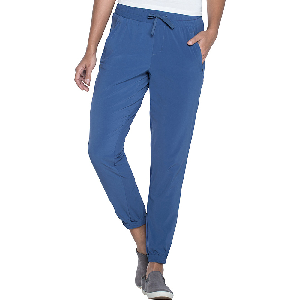 Toad & Co Sunkissed Rollup Pant L - 28in - Indigo - Toad & Co Womens Apparel - Apparel & Footwear, Women's Apparel