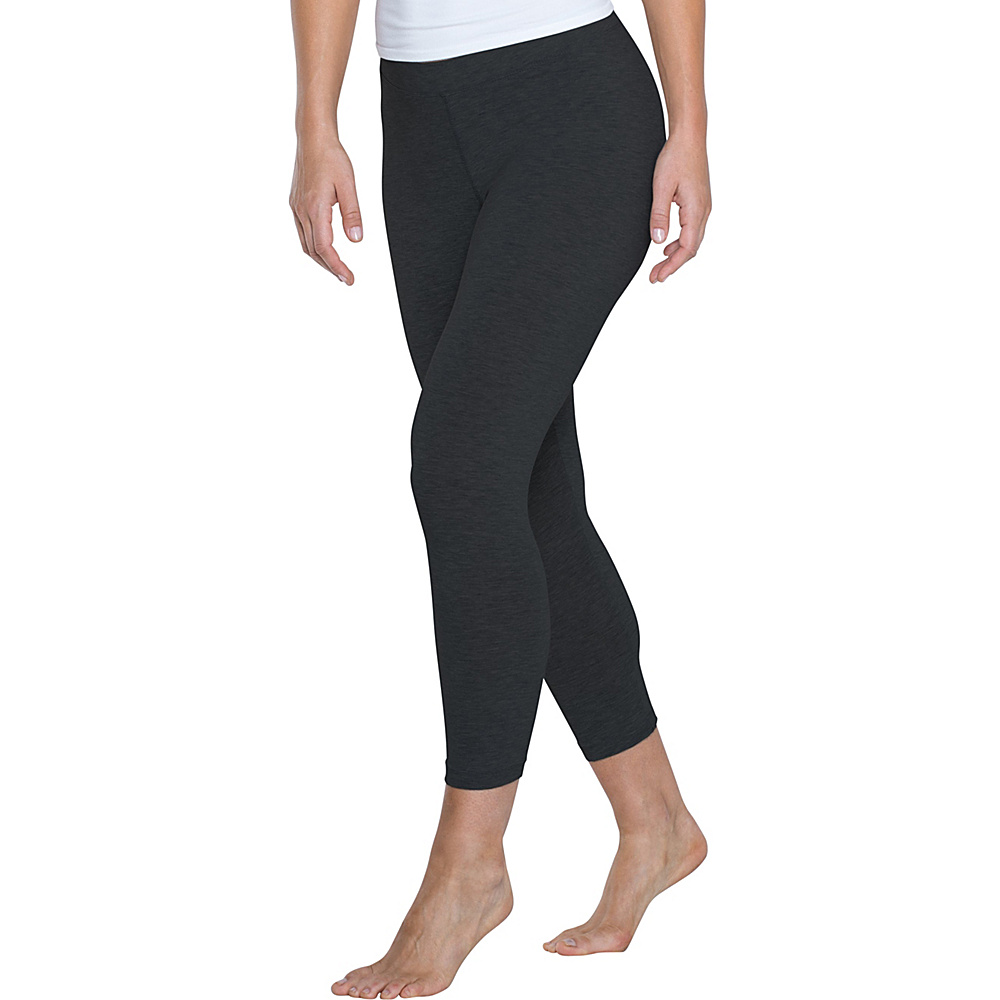 Toad & Co Lean Capri Legging L - 22in - Black - Toad & Co Womens Apparel - Apparel & Footwear, Women's Apparel