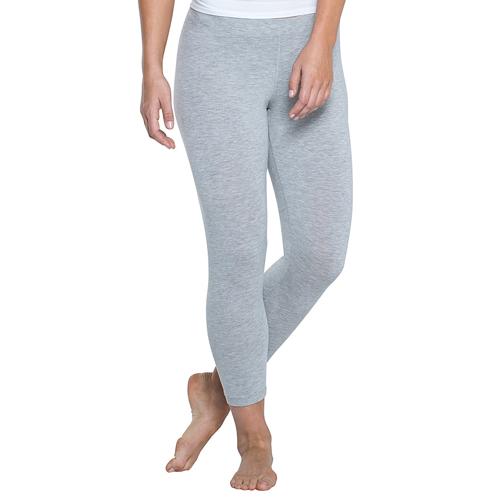 Toad & Co Lean Capri Legging XS - 22in - Heather Grey - Toad & Co Womens Apparel - Apparel & Footwear, Women's Apparel