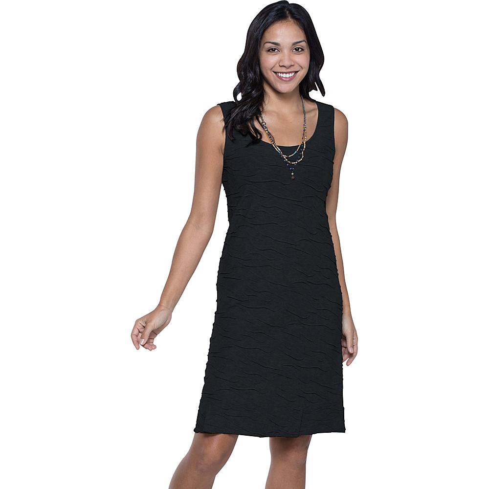 Toad & Co Samba Wave Tank Dress L - Black - Toad & Co Womens Apparel - Apparel & Footwear, Women's Apparel