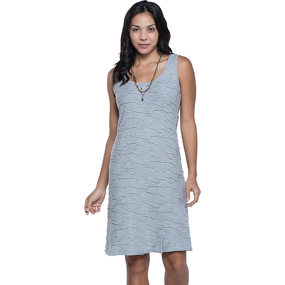 Toad & Co Samba Wave Tank Dress XL - Heather Grey - Toad & Co Womens Apparel - Apparel & Footwear, Women's Apparel