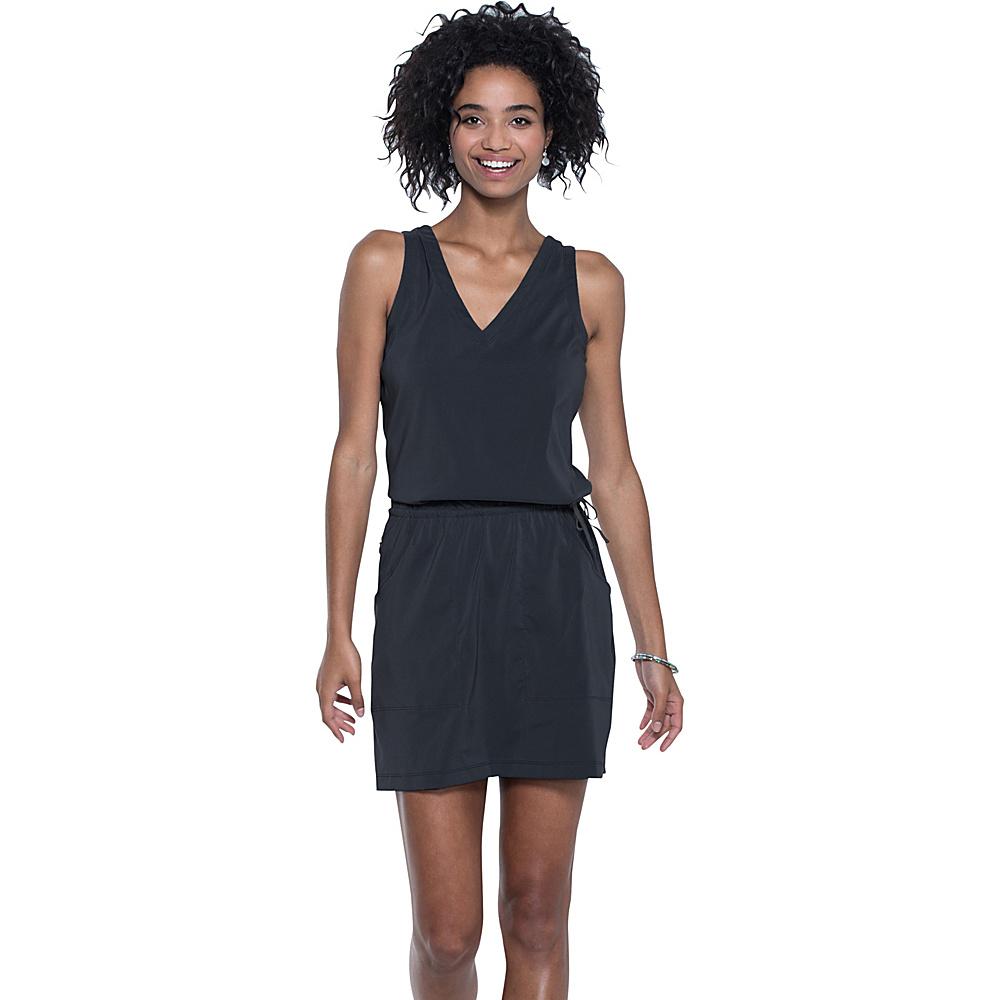 Toad & Co Liv Dress XL - Black - Toad & Co Womens Apparel - Apparel & Footwear, Women's Apparel