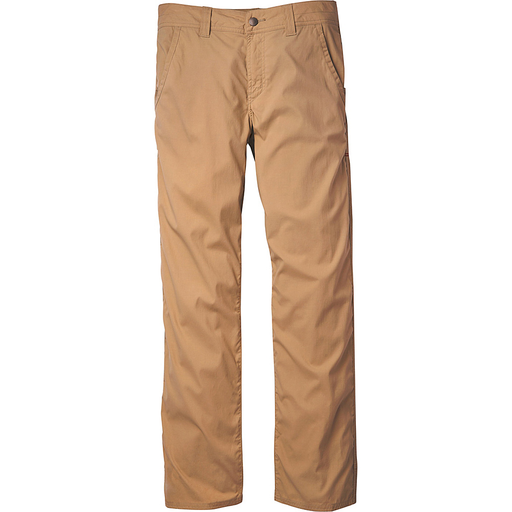 Toad & Co Debug Trailblaze Pant 33 - 32in - Honey Brown - Toad & Co Mens Apparel - Apparel & Footwear, Men's Apparel