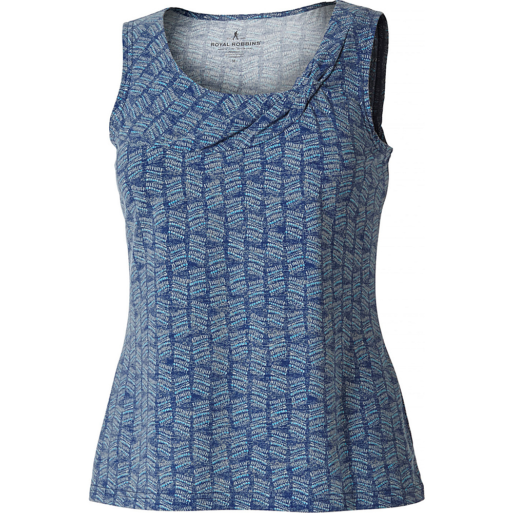 Royal Robbins Womens Essential Tencel Dash Tank S - Blue Sea - Royal Robbins Womens Apparel - Apparel & Footwear, Women's Apparel
