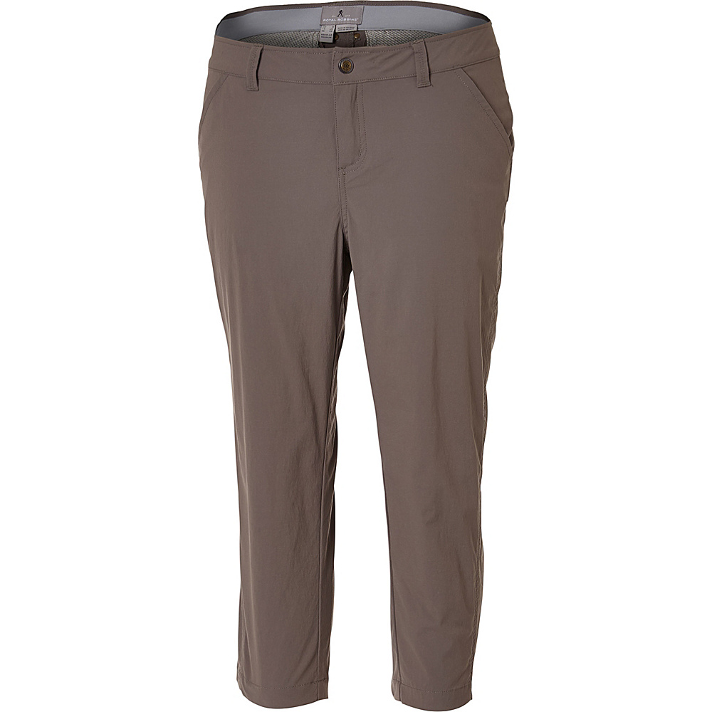 Royal Robbins Womens Discovery Capri 4 - Taupe - Royal Robbins Womens Apparel - Apparel & Footwear, Women's Apparel