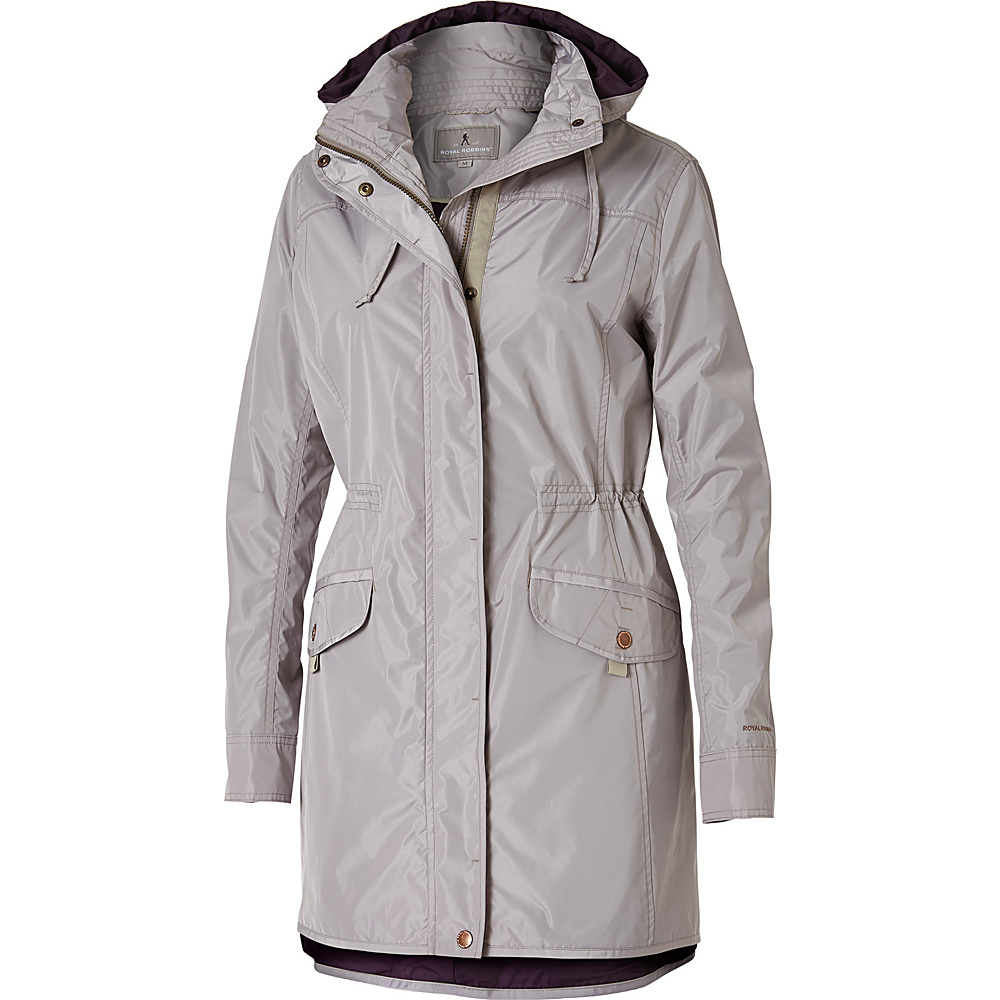 Royal Robbins Womens Gails Force Trench S - Putty - Royal Robbins Mens Apparel - Apparel & Footwear, Men's Apparel