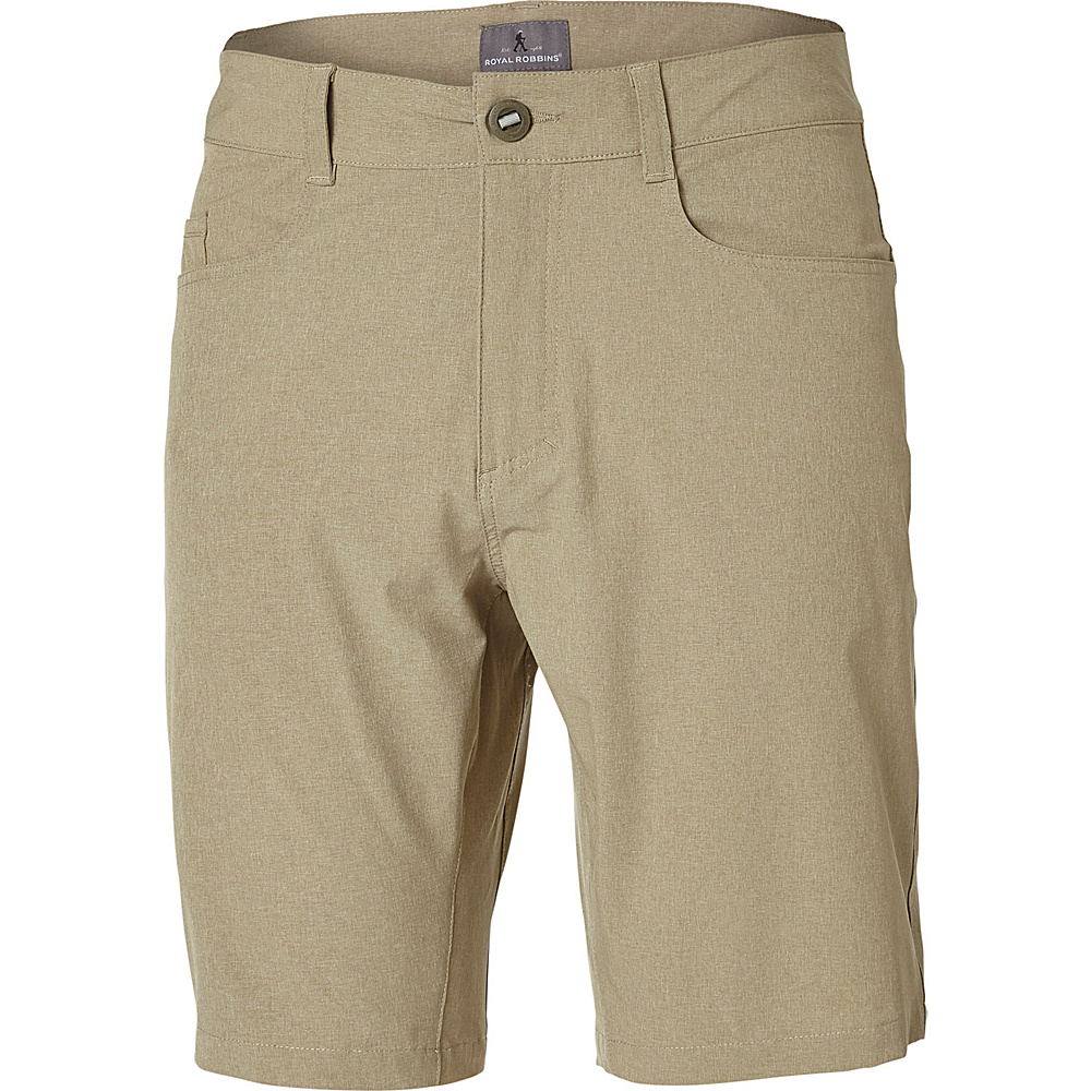 Royal Robbins Mens Coast Short 36 - 10in - Desert - Royal Robbins Mens Apparel - Apparel & Footwear, Men's Apparel