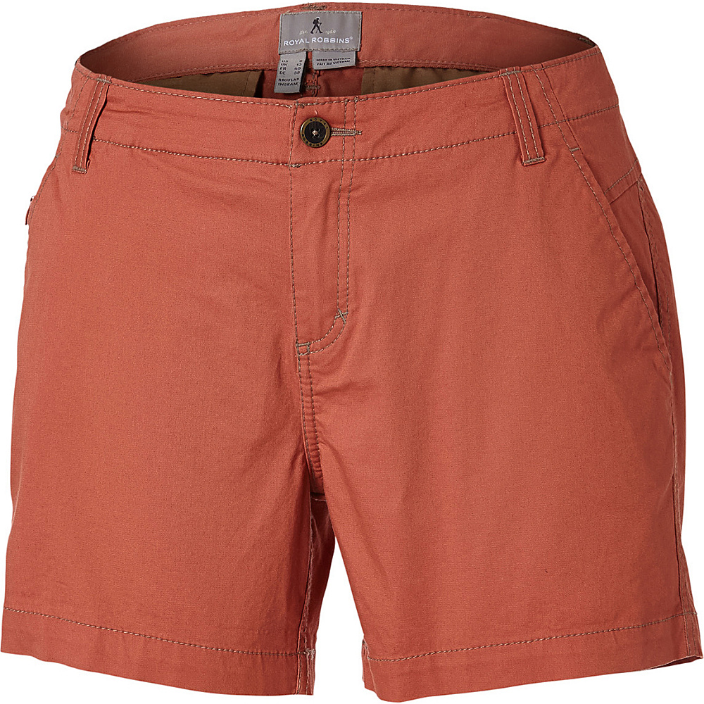 Royal Robbins Womens Ventura Short 4 - 5in - Calabash - Royal Robbins Womens Apparel - Apparel & Footwear, Women's Apparel