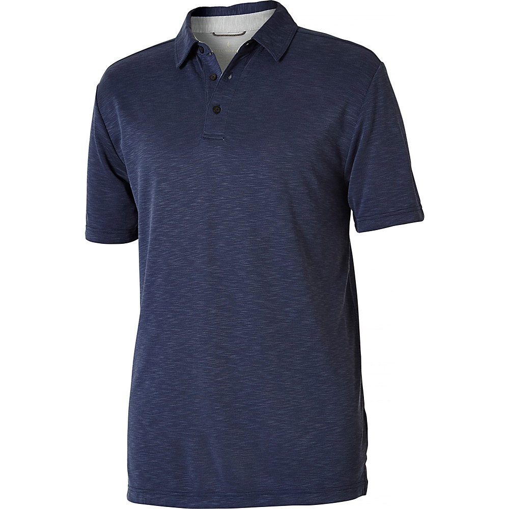 Royal Robbins Mens Great Basin Polo S - Collins Blue - Royal Robbins Mens Apparel - Apparel & Footwear, Men's Apparel
