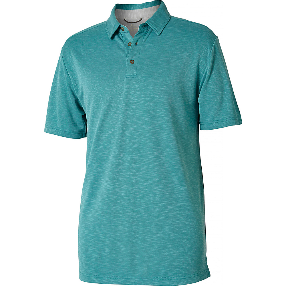 Royal Robbins Mens Great Basin Polo XL - Bowden - Royal Robbins Mens Apparel - Apparel & Footwear, Men's Apparel